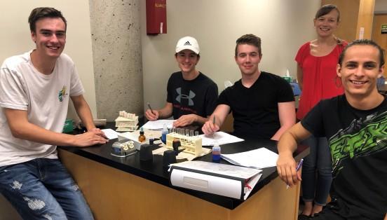 biol molecules lab
