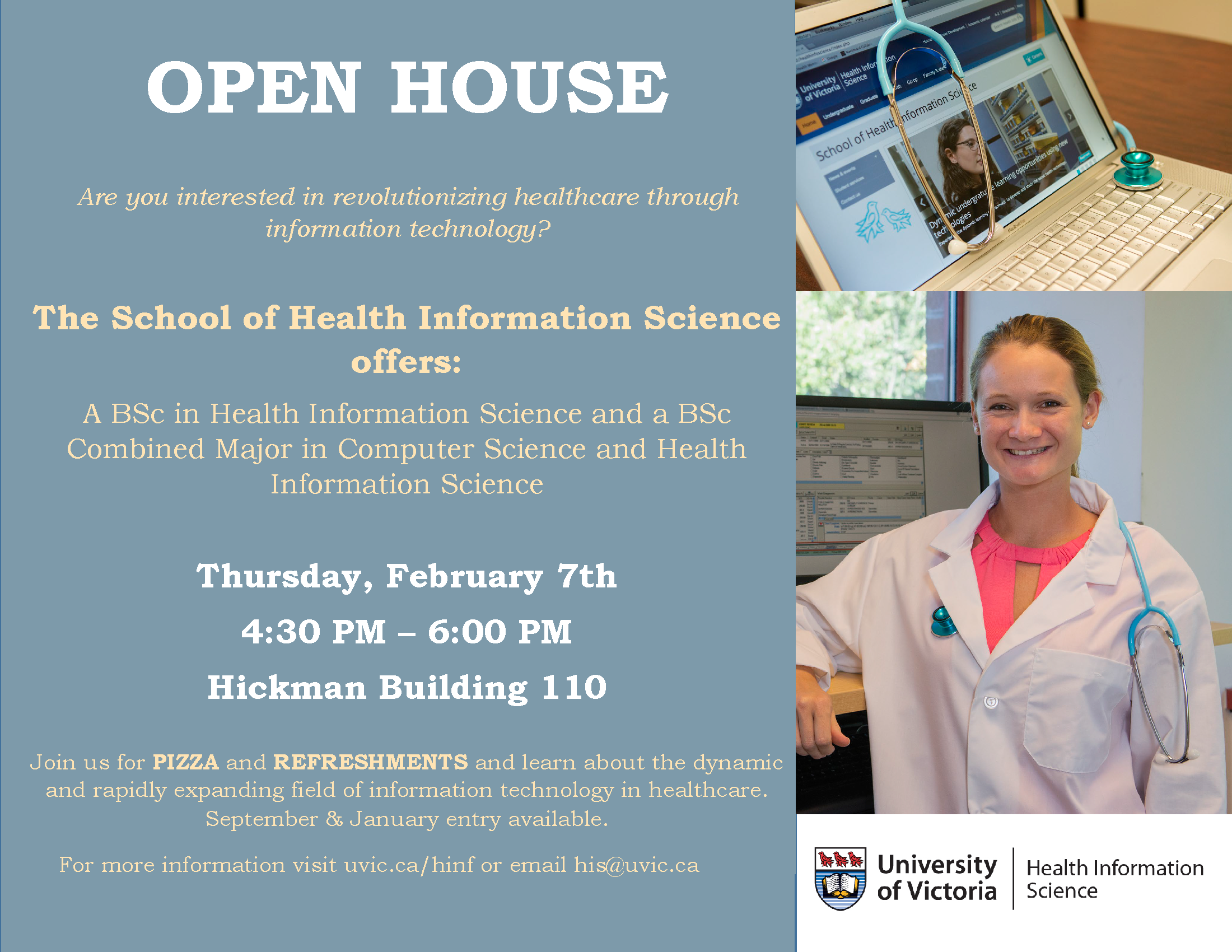 hinf spring open house 2019_poster