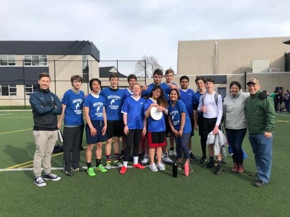 Belmont Ultimate Dawgs - 2019-04-05 - Glenlyon Norfolk School