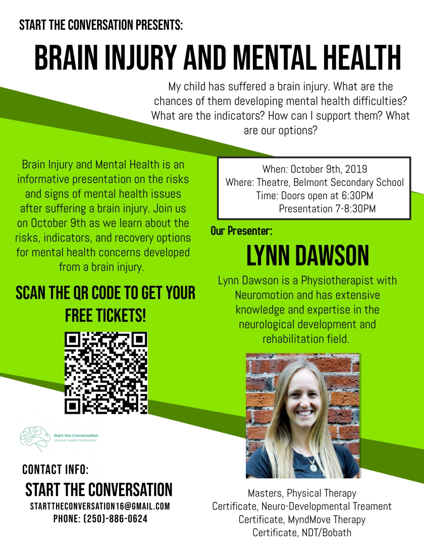 Brain Injury and Mental Health Oct 9 2019