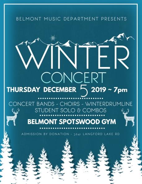 BMD Winter Concert 2019