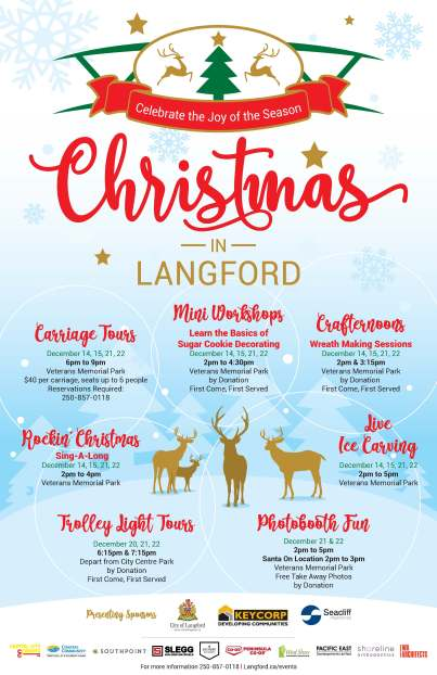 Community Christmas Activities in Langford