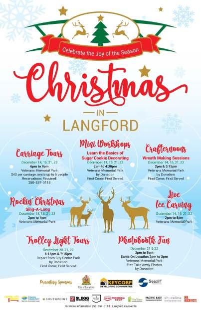 Community Christmas Activities in Langford