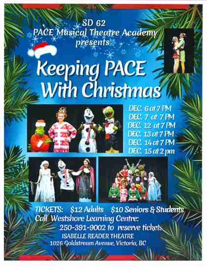PACE Musical Theatre Christmas Show