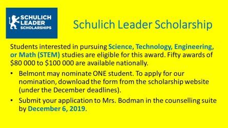 Schulich Leader